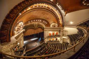 Spreckels Theater, San Diego: Balcony Left Front