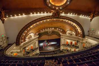 Spreckels Theater, San Diego: Balcony Mid-Left Rear