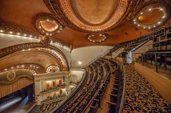 Spreckels Theatre, San Diego: Balcony from Left