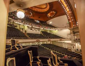 Spreckels Theater, San Diego: Auditorium from House Right Mezzanine Box