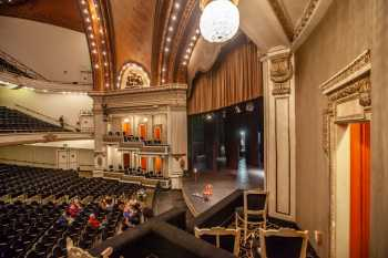 Spreckels Theatre, San Diego: Stage from House Right Mezzanine Box