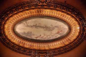 Spreckels Theatre, San Diego: Main ceiling mural depicting the dawn