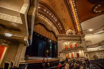 Spreckels Theatre, San Diego: Rear Orchestra behind House Left Boxes