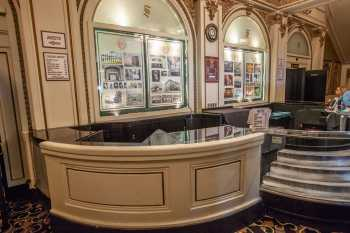 Spreckels Theatre, San Diego: Concessions Stand closeup in main lobby