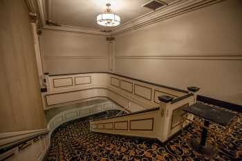 Spreckels Theatre, San Diego: Mezzanine Lobby at House Right