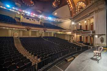 Spreckels Theatre, San Diego: Auditorium and Ghost Light