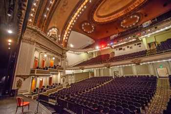 Spreckels Theatre, San Diego: Auditorium from Downstage Right