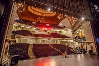 Spreckels Theater, San Diego: Auditorium from Stage Left