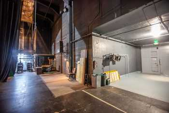 Spreckels Theatre, San Diego: Stage Right Wing and Loading Dock