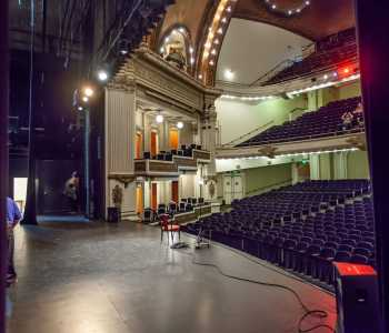 Spreckels Theatre, San Diego: Stage from Stage Right Wing