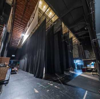 Spreckels Theatre, San Diego: Stage from Upstage Right (Panoramic)