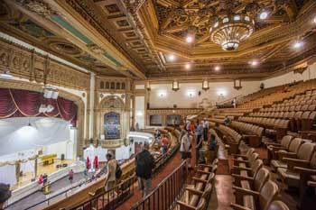 State Theatre, Los Angeles: Auditorium from Balcony left