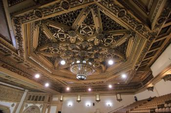 State Theatre, Los Angeles: Ceiling detail