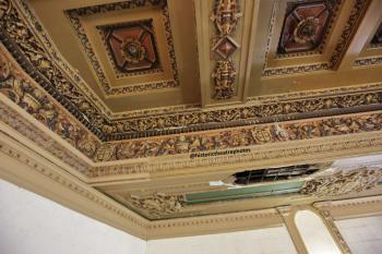 State Theatre, Los Angeles: Balcony rear left ceiling detail