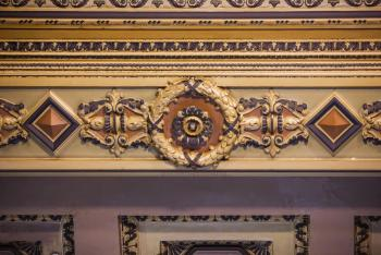 State Theatre, Los Angeles: Decorative ceiling frieze