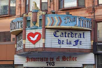 State Theatre, Los Angeles: Marquee