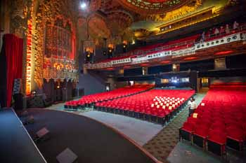 The Theatre at Ace Hotel, Los Angeles: Auditorium from Downstage Right