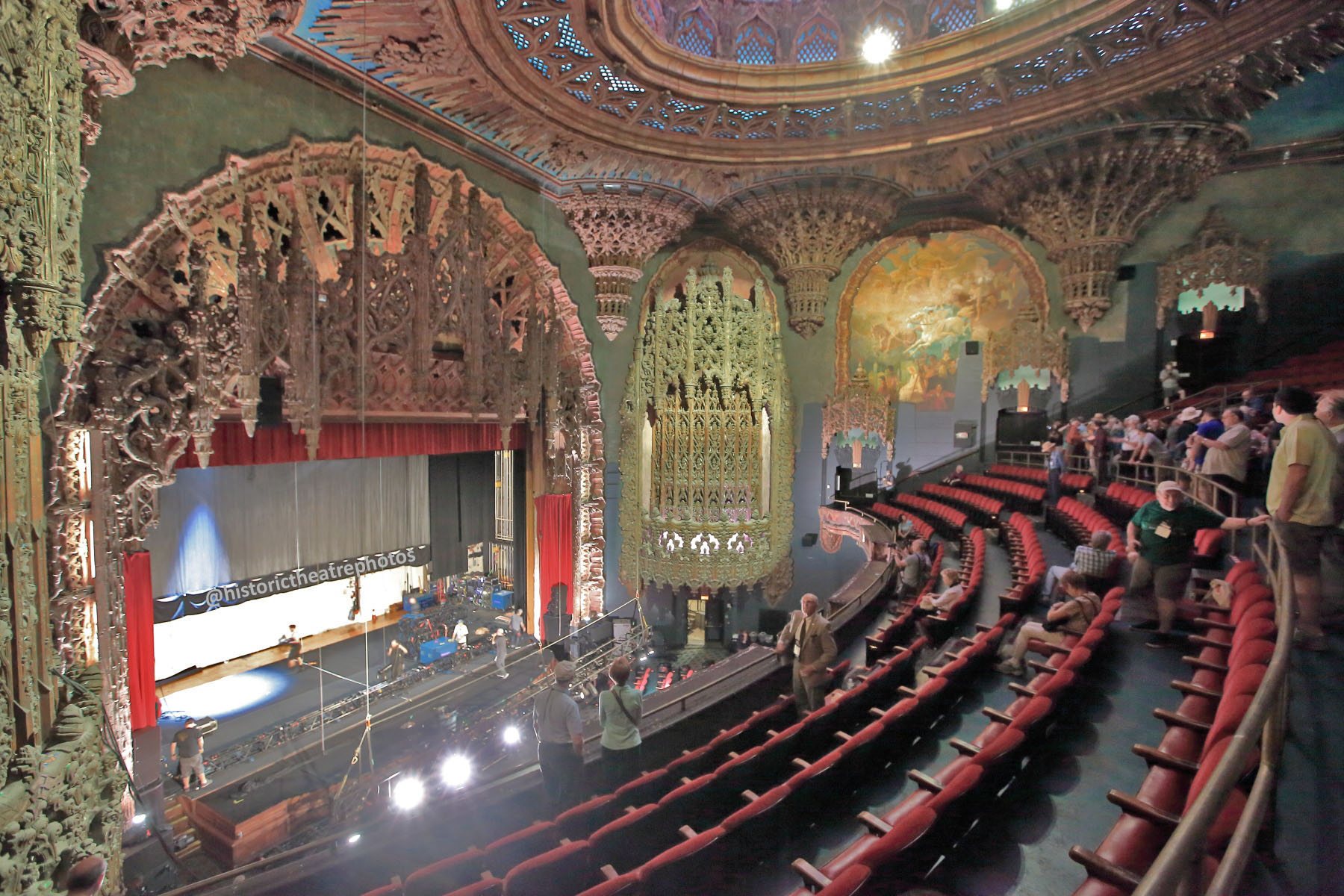 The 1927 Auditorium, designed by architect C. Howard Crane