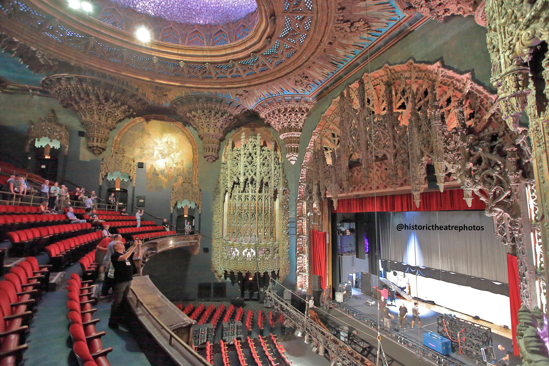 The Theatre at Ace Hotel, Los Angeles: Balcony from right