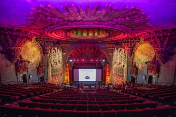 The Theatre at Ace Hotel, Los Angeles: Stage from Balcony Center Rear