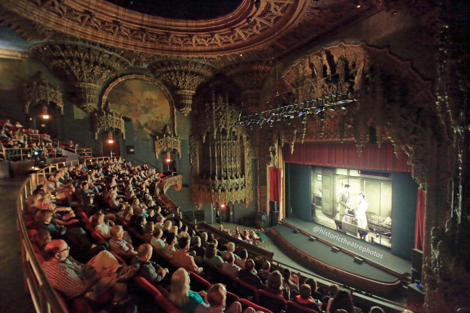 The Theatre at Ace Hotel, Los Angeles: <i>Last Remaining Seats</i> 2017 Audience from Balcony