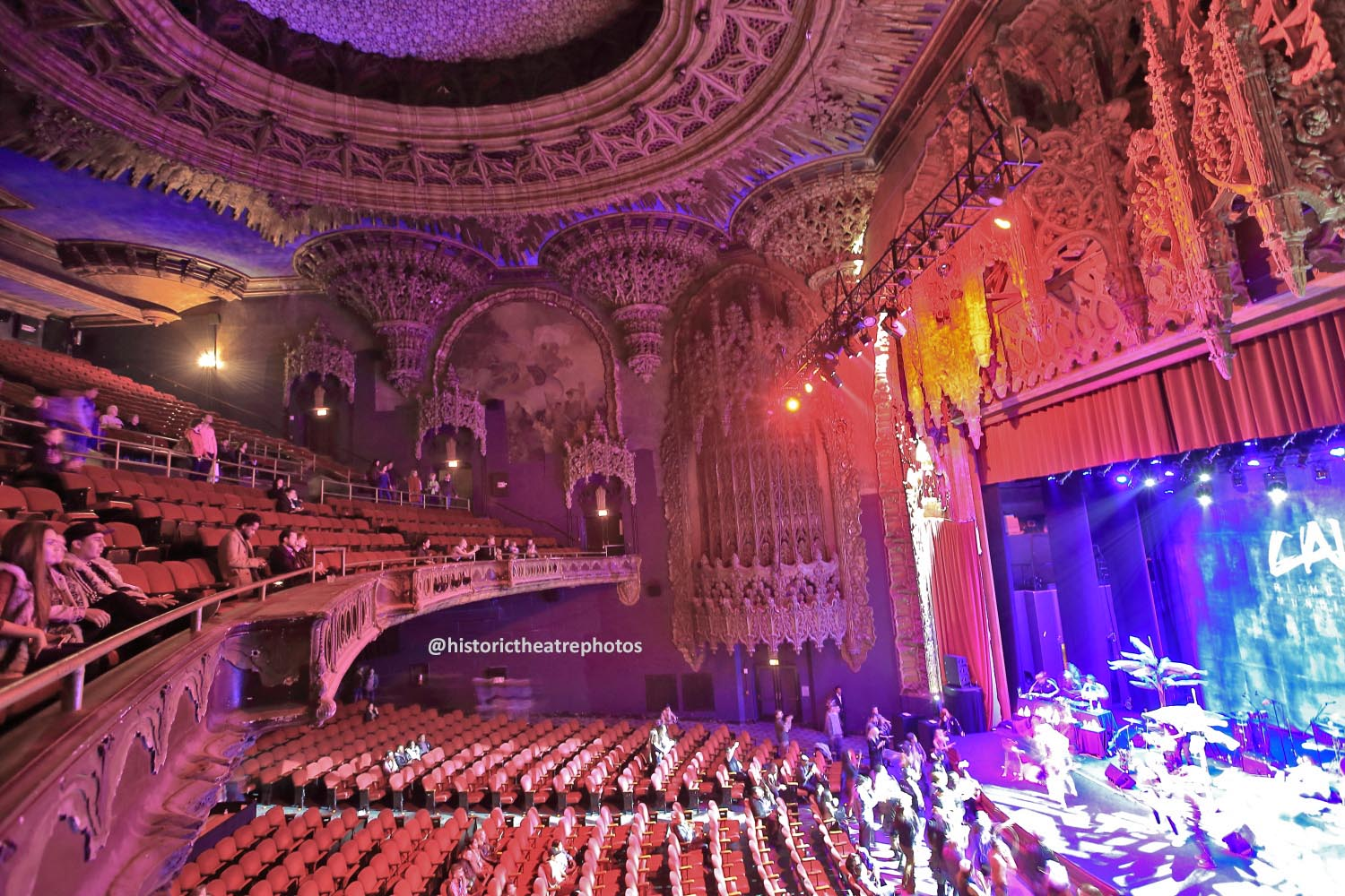 The Theatre at Ace Hotel, Los Angeles: <i>Night On Broadway</i> 2016 from Balcony right