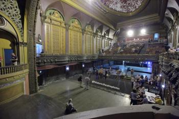 Tower Theatre, Los Angeles: Auditorium from Box at side of Stage