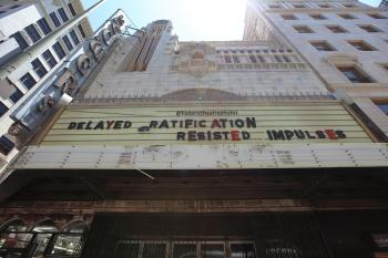 Tower Theatre, Los Angeles: Underneath the 1960s Marquee in 2018