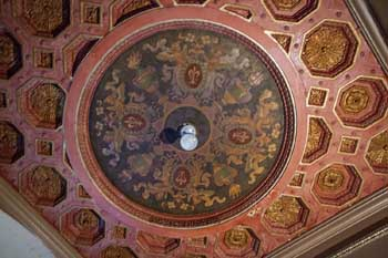 Tower Theatre, Los Angeles: Ceiling Panel Detail