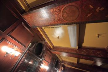 Tower Theatre, Los Angeles: Basement Lounge ceiling detail
