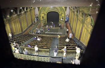 Tower Theatre, Los Angeles: View from Projection Booth