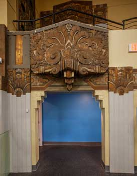 Warner Theatre, Huntington Park: House Right Exit