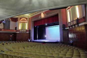 Wilshire Ebell Theatre: Orchestra rear right