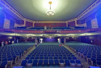 Wilshire Ebell Theatre: Auditorium from Stage