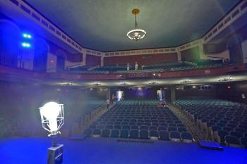 Wilshire Ebell Theatre: Auditorium with Ghost Light