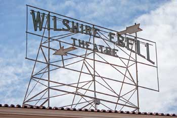 Wilshire Ebell Theatre: Theatre Roof Sign