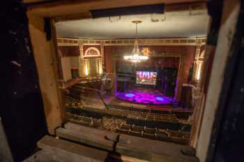 Wilshire Ebell Theatre: Auditorium from Booth