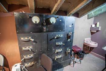 Wilshire Ebell Theatre: Original Booth Switchboard