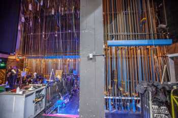 Downstage and Upstage Counterweight Walls