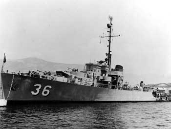 The <i>USS Glendale</i>, named in honor of the city following the raising of over $1 million in war bonds, mostly at events held at the theatre (JPG)