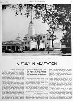 Five-page photo article on the new theatre as featured in the 4th July 1931 edition of <i>Motion Picture Herald</i>, held by the Library of Congress and digitized by the Internet Archive (5.3MB PDF)