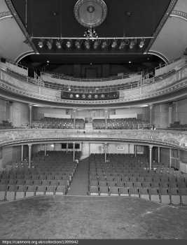 Auditorium from Stage in 1977, courtesy Canmore / Historic Environment Scotland (JPG)