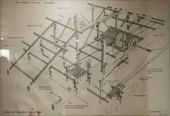 Grid Schematic, a historic drawing (date unknown) held by the theatre on-site (JPG)