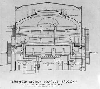 Transverse Section, from the S. Charles Lee archive held by UCLA (JPG)