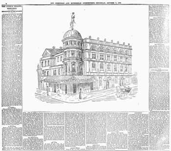 Detailed description of the new theatre as printed in the 7th October 1897 edition of <i>The Sheffield and Rotherham Independent</i>, digitized by the British Newspaper Archive (1.7MB PDF)