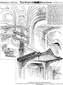 Pictorial feature from the 14th June 1911 edition of the <i>Los Angeles Times</i> (1.8MB PDF)