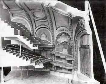 Photograph of a design model for the theatre, courtesy Ed Kelsey / LAHTF (JPG)