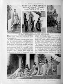 """California Southland"" (November 1925) focusing on wardrobe and makeup design; held by the California State Library and scanned online by the Internet Archive (1 page; 1.1MB PDF)"