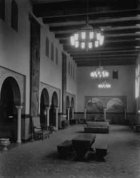 Lounge circa 1926, courtesy California State Library (JPG)