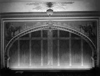 Proscenium circa 1926, courtesy California State Library (JPG)
